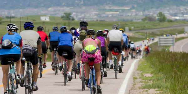 Euro City Cycling Challenge - Cyclists on Route